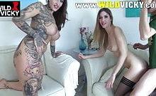 MaryHaze – Geiler Vierer mit Freundin Wild Vicky